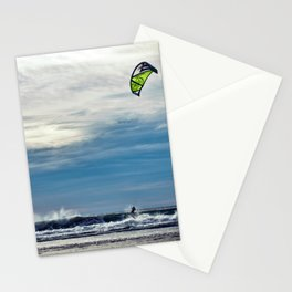 Parasailing On The Surf Stationery Cards