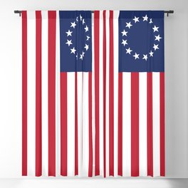 Betsy Ross flag of the USA Blackout Curtain