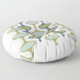 50s - 60s Retro Pattern Floor Pillow