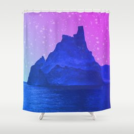 The Fortress of Ice Shower Curtain