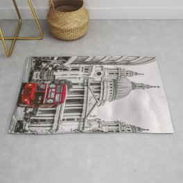 London Classic Bus Rug
