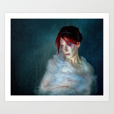 All Those Moments Lost Like Tears in the Rain Art Print