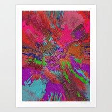 Hippie Goop Art Print