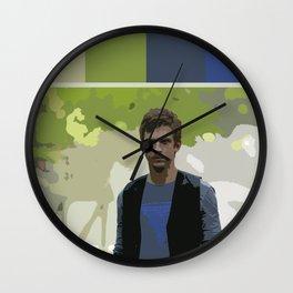 David Haller (Color Swatch) Wall Clock