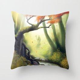 Traveller Throw Pillow