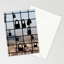 Locks in Florence Stationery Cards