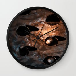 Cheese Grater Galaxy Wall Clock