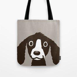 Long Ears Spaniel Tote Bag