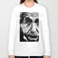 einstein Long Sleeve T-shirts featuring Einstein by lyneth Morgan
