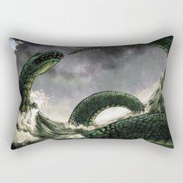 The Midgard Serpent Rectangular Pillow