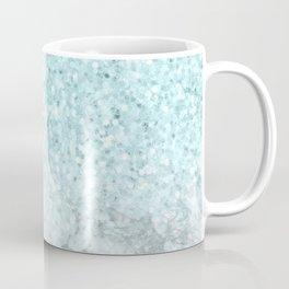 Turquoise Sea Mermaid Glitter Marble Coffee Mug