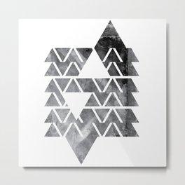 GEOMETRIC SERIES IV Metal Print