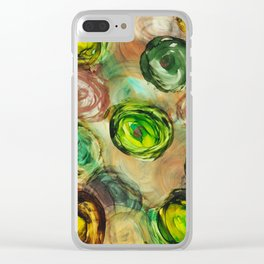 Ink 72 Clear iPhone Case