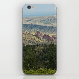 Red Rocks amphitheater iPhone Skin