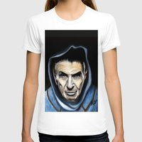 spock T-shirts featuring Spock by James Kruse