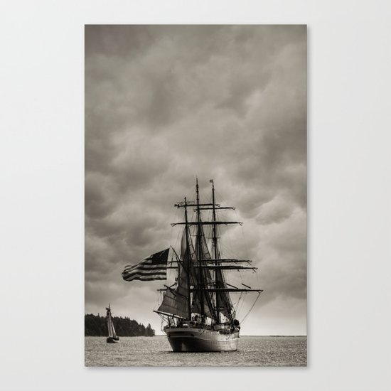 Parade of Sail Canvas Print