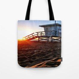 "Redondo Beach ""Life Guard Tower 3"" Tote Bag"
