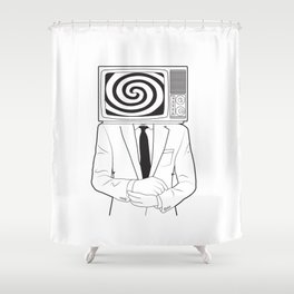 Mind Control Shower Curtain