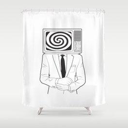 Mind Control Shower Curtain