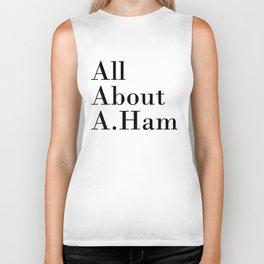 All About A. Ham Biker Tank