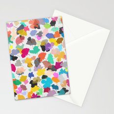 buttercups 2 sq Stationery Cards