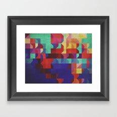 Quartier (ANALOG Zine) Framed Art Print