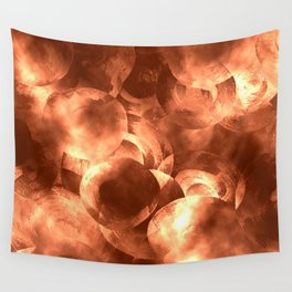 Thoughtless Pennies Wall Tapestry