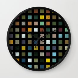 Rustic Wooden Abstract lV Wall Clock