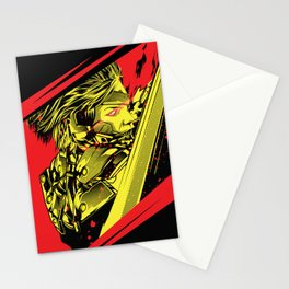 Metal Gear Rising Stationery Cards