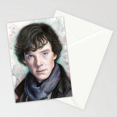 Sherlock Holmes Sherlocked Benedict Cumberbatch Stationery Cards