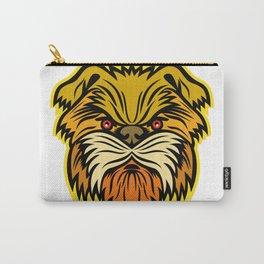 Affenpinscher Monkey Dog Mascot Carry-All Pouch