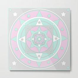 Love to my Love. Mandala Metal Print