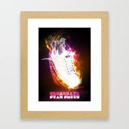 Celebrate Adidas Stan Smith Framed Art Print