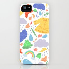 ispy Rainy Days iPhone Case