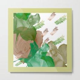 Citrus Petals Metal Print