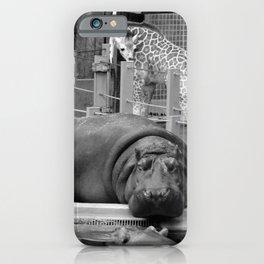 Hippo's and Giraffe iPhone Case