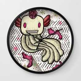 Mad Squillie Wall Clock