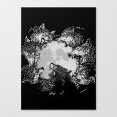 Moon Eaters Canvas Print