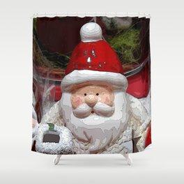 Santa20150902 Shower Curtain