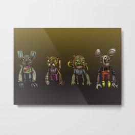 Cartoomans Metal Print