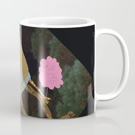 Silence Walks Coffee Mug