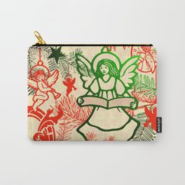 singing angels with scrolls Carry-All Pouch
