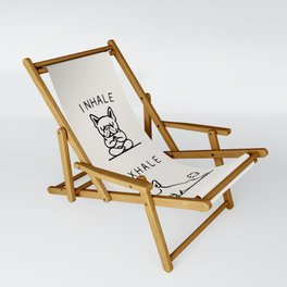 Inhale Exhale Frenchie Sling Chair