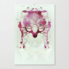 NIGHT OF WOLVES Canvas Print