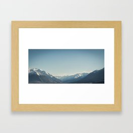 Mount Cook from Ohau Framed Art Print