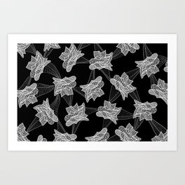 Gehry Lace Art Print