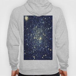 galaxY Stars : Midnight Blue & Gold Hoody