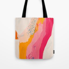 Abstract Line Shades Tote Bag