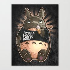 CUDDLE MONSTER Canvas Print