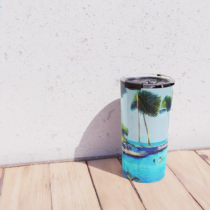 Corky's diving Travel Mug